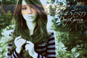 #5 PSD - Deep Green